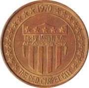 Medal - Rocky Mount, North Carolina, All-American City (Texaco) – avers