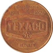 Medal - Rocky Mount, North Carolina, All-American City (Texaco) – revers
