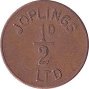 ½ Penny - Joplings Ltd. – avers