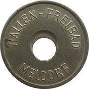 Public Swimming Pool Token - Meldorf (youth) – avers
