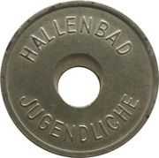 Public Swimming Pool Token - Meldorf (youth) – revers