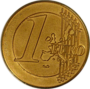 Jeton - 1 Euro – avers