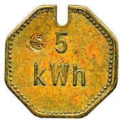 5 kWh - Städtische Werke (Neuwied am Rhein) – revers