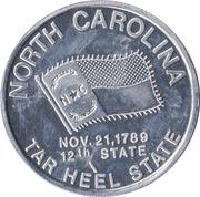 Token - North Carolina – avers