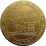 Medal - Canadian Armed Forces Esquimalt Captain Cook Centennial – avers