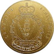 Medal - Canadian Armed Forces Esquimalt Captain Cook Centennial – revers