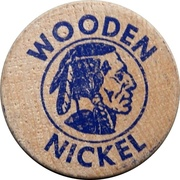 Wooden Nickel - Watford Centennial – revers