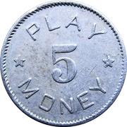 5 - Play Money (écureuil) – avers