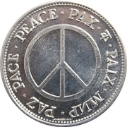 Medal - Peace – revers