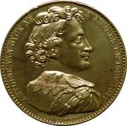 Jeton - Des grands hommes de la Belgique (Antoine Van Dyck) – avers