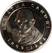 Token - I Grandi Protagonisti del Millennio (Mahatma Gandhi) – avers