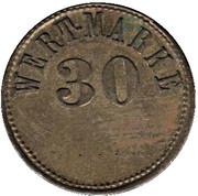 30 Pfennig (Wert-Marke) – avers