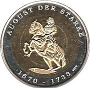 Token - Deutsche Länder Freistaat Sachsen – revers