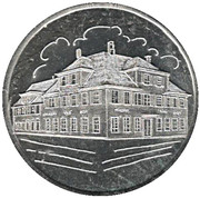 Token - Bank Building Göppingen 75 years – revers