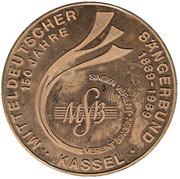 Token - 150 Years Mitteldeutscher Säangerbund – avers