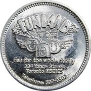 Souvenir Token - Funland (Toronto) – avers