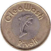 Jeton de lavage automobile - CleoWash (Rivoli ; 11 étoiles) – avers