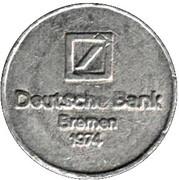 Token - Deutsche Bank (Bremen) – avers