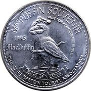 MacPuffin Souvenir 2 Dollars - Cape Breton Island, Nova Scotia – revers