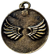 Religious Medal - Protection for Cars of the Guardian Angel – avers