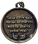 Religious Medal - Protection for Cars of the Guardian Angel – revers