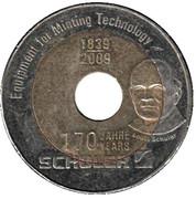 Jeton - Schuler Presse 170 Years – revers