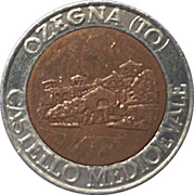Jeton de lavage automobile - Onda (Ozegna, Turin) – avers
