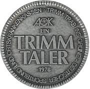 1 Trimm Taler (Westphalica) – revers