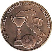 Jeton - Coupe du monde de football Italie 1990 – avers