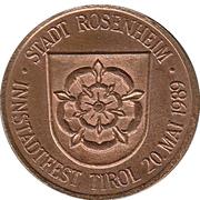 Jeton - Rosenheim (Innstadtfest Tirol 1989) – avers