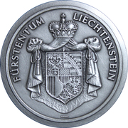 Principality of Liechtenstein Medallion – avers