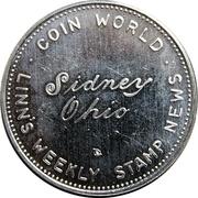Token - Torex Coin World Sidney Ohio – revers