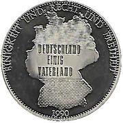 Token - Deutschland (Deutschland einig Vaterland) – avers