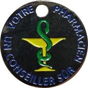 Jeton de chariot - Grande Pharmacie Elysee (Nice) – avers