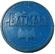 Bat coins - Catwoman – revers