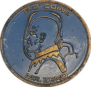 Bat coins - Mr. Zero – avers