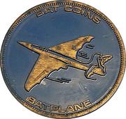 Bat coins - Batplane – avers