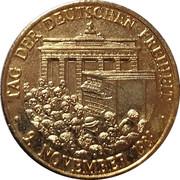 Médaille - Chute du Mur de Berlin et réunification allemande – avers
