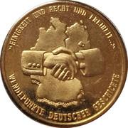 Médaille - Chute du Mur de Berlin et réunification allemande – revers