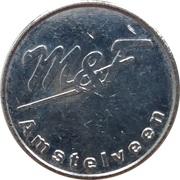Jeton de lavage automobile - Wasboxmunt M&F (Amstelveen) – avers