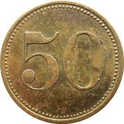 50 Pfennig (Wert-Marke) – avers