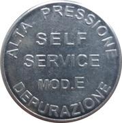 Jeton de lavage automobile - Mix Italy (Self Service mod.E, Occimiano) – revers