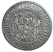 Reproduction Thaler Suisse canton de Zurich 1512 – avers