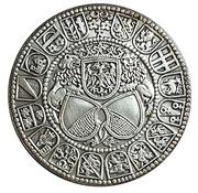 Reproduction Thaler Suisse canton de Zurich 1512 – revers
