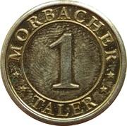 1 Morbacher Taler (Morbach) – revers