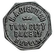 1 Loaf Bread - H.A. Dietrich Twin City Bakery (Berlin) – avers