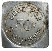 50 Cents - T.L. Wurm (Zurich, Ontario) – revers