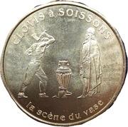 2 Euro (Soissons) – revers