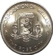 Commemorative Coin - Merritt Island (Welland, Ontario) – avers