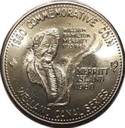 Commemorative Coin - Merritt Island (Welland, Ontario) – revers